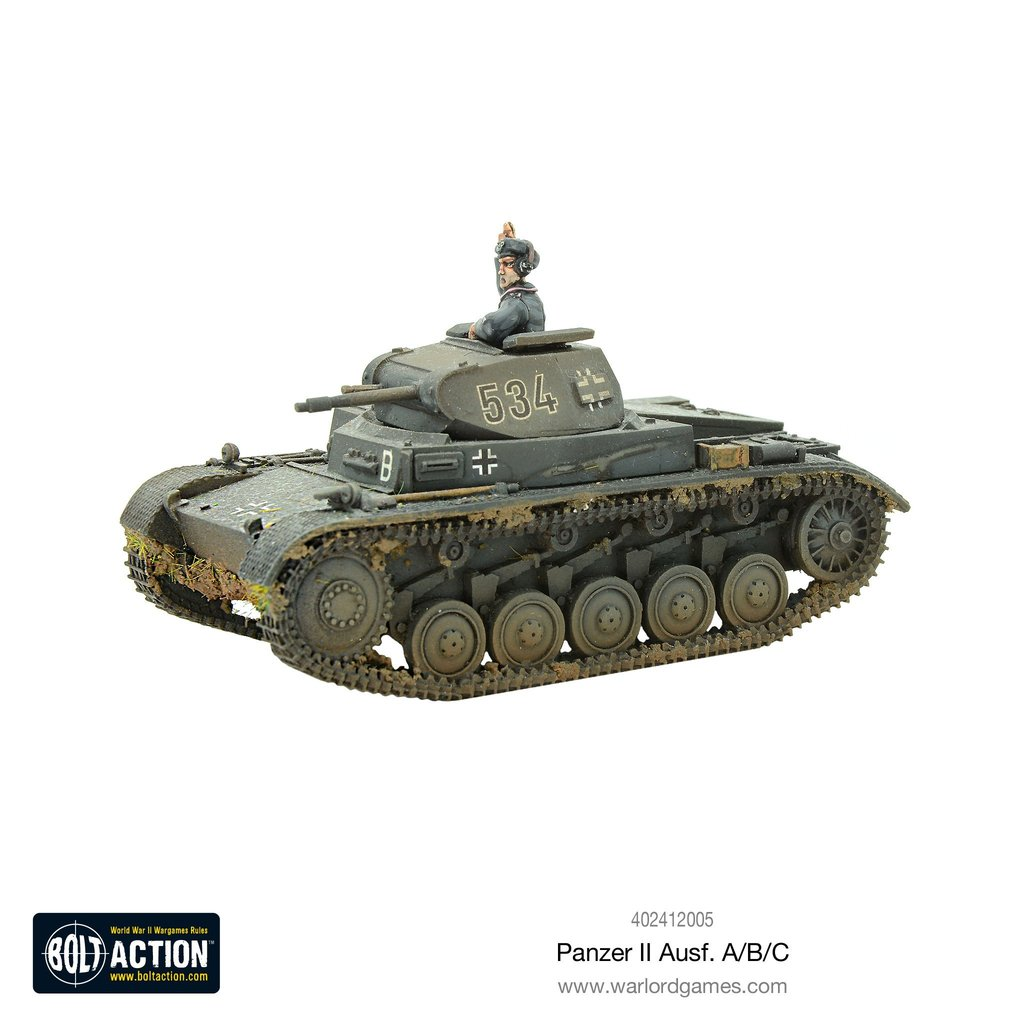 Bolt Action Panzer II