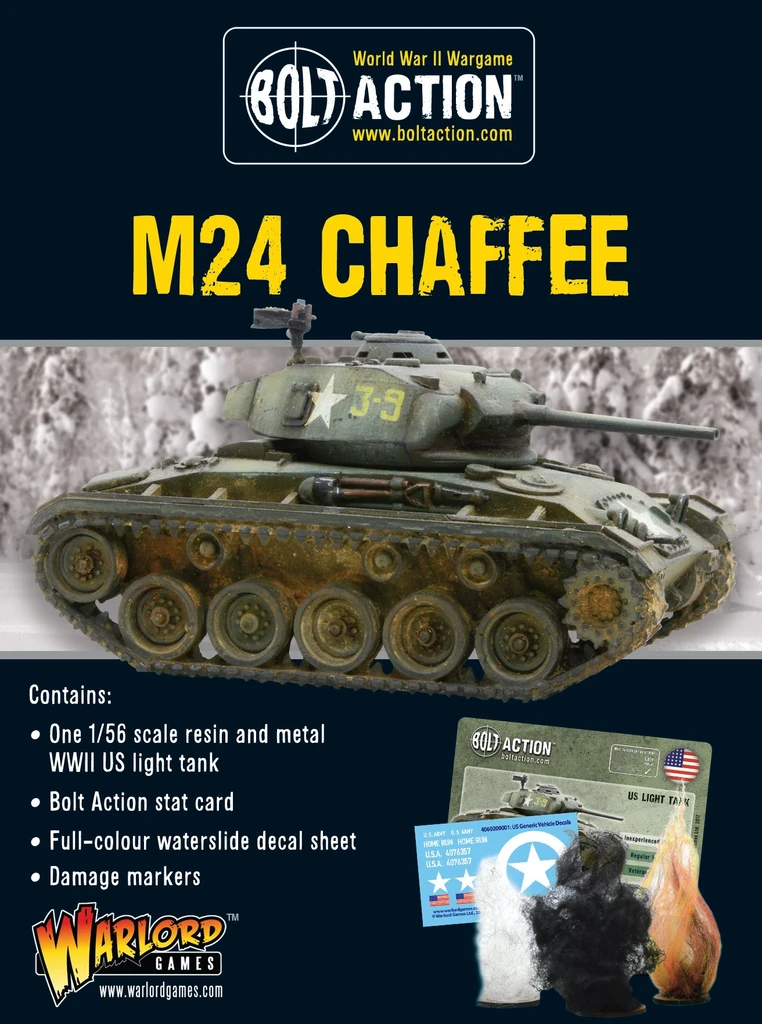 Bolt Action M24 Chaffee US Light Tank