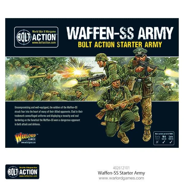 Bolt Action Waffen SS Starter Army