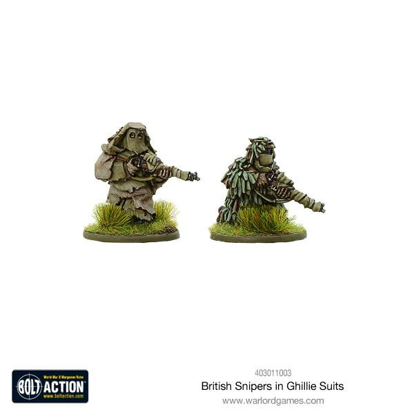 Bolt Action British Snipers in Ghillie suits