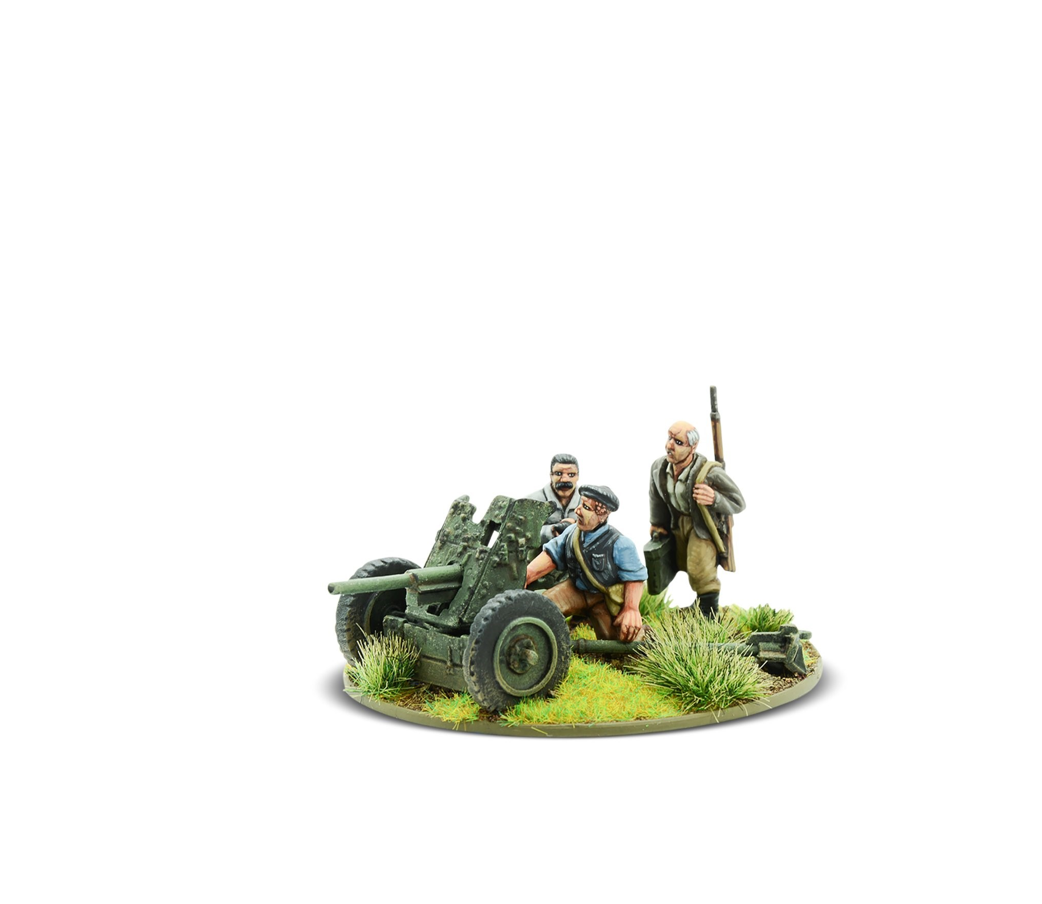 Bolt Action French Resistance light anti-tank gun