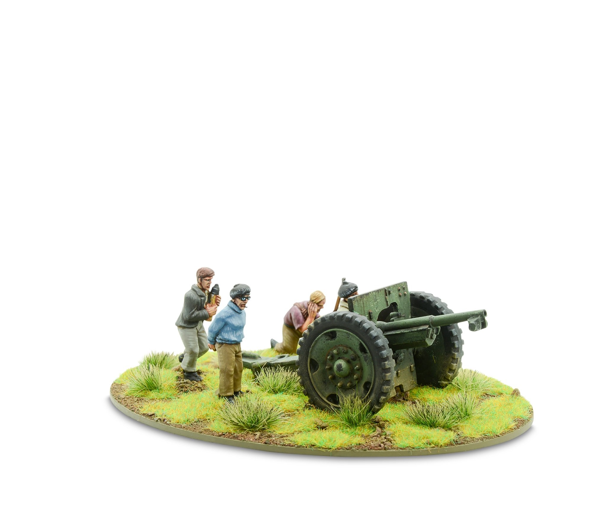 Bolt Action French Resistance light artillery