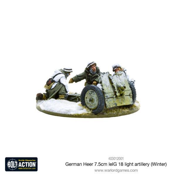 Bolt Action German Heer 7.5cm leIG 18 light artillery (Winter)