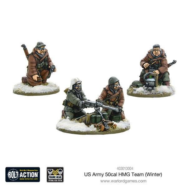 Bolt Action US Army 50cal HMG Team (Winter)