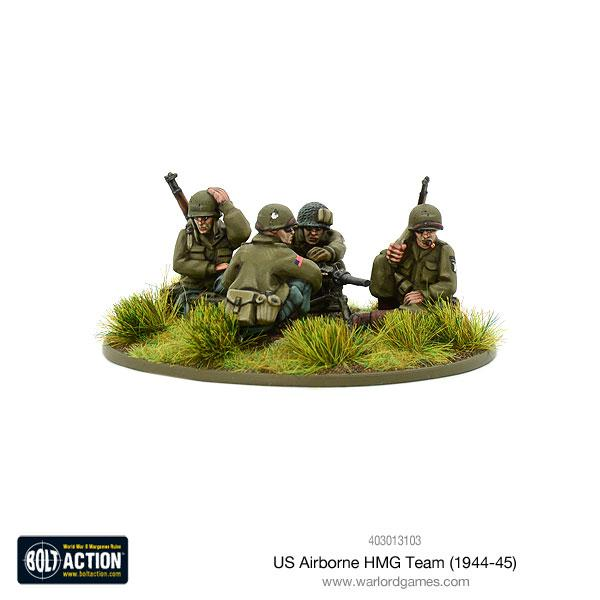 Bolt Action US Airborne HMG team (1944-45)