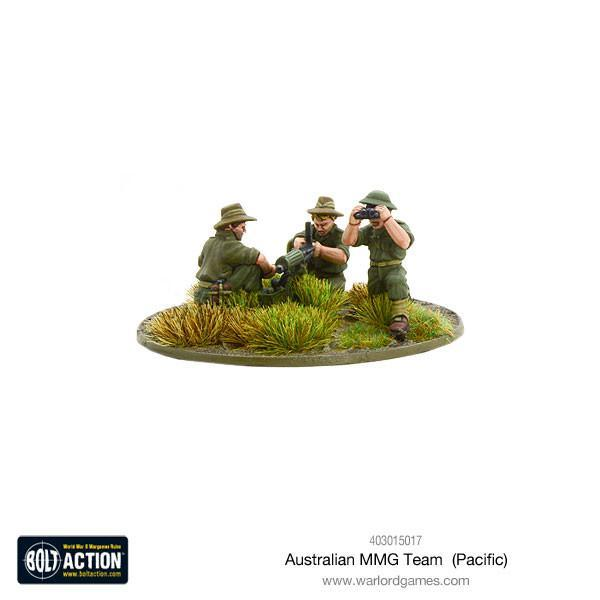 Bolt Action Australian MMG team (Pacific)