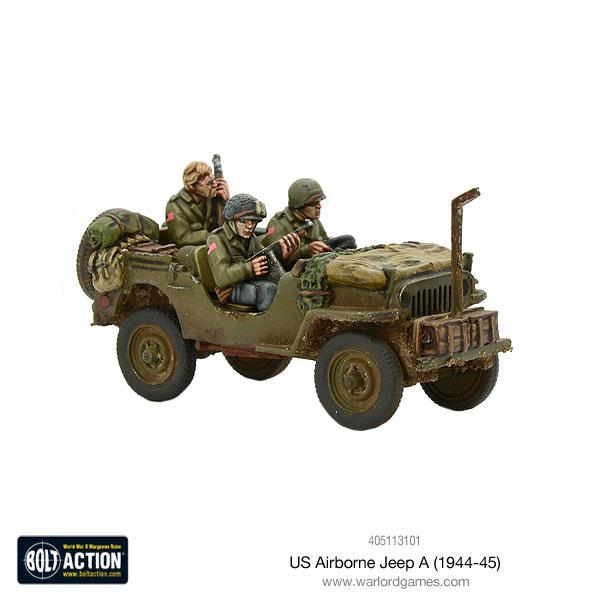 Bolt Action US Airborne Jeep (1944-45)