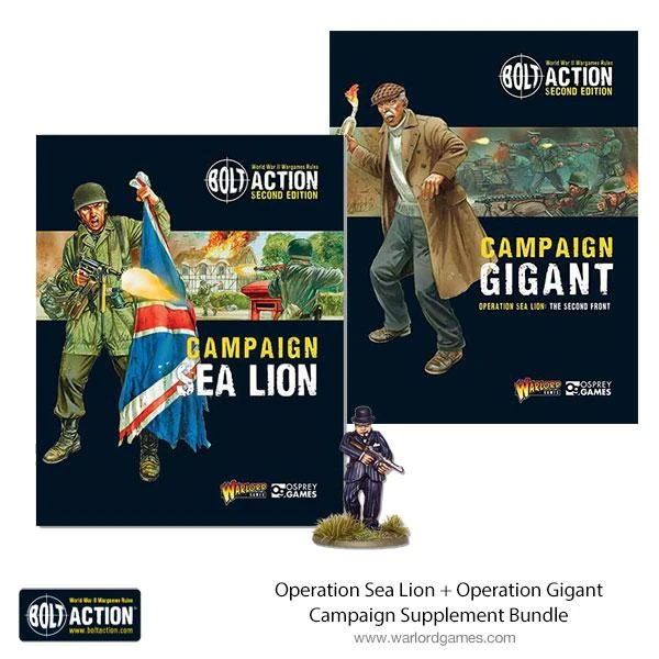 Bolt Action Operation Sea-lion & Gigant