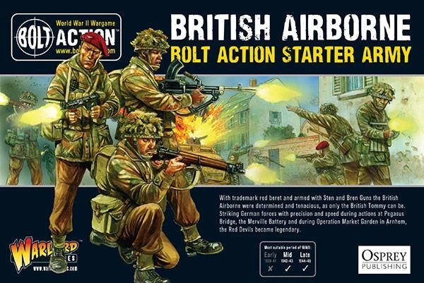 Bolt Action British Airborne Starter Army