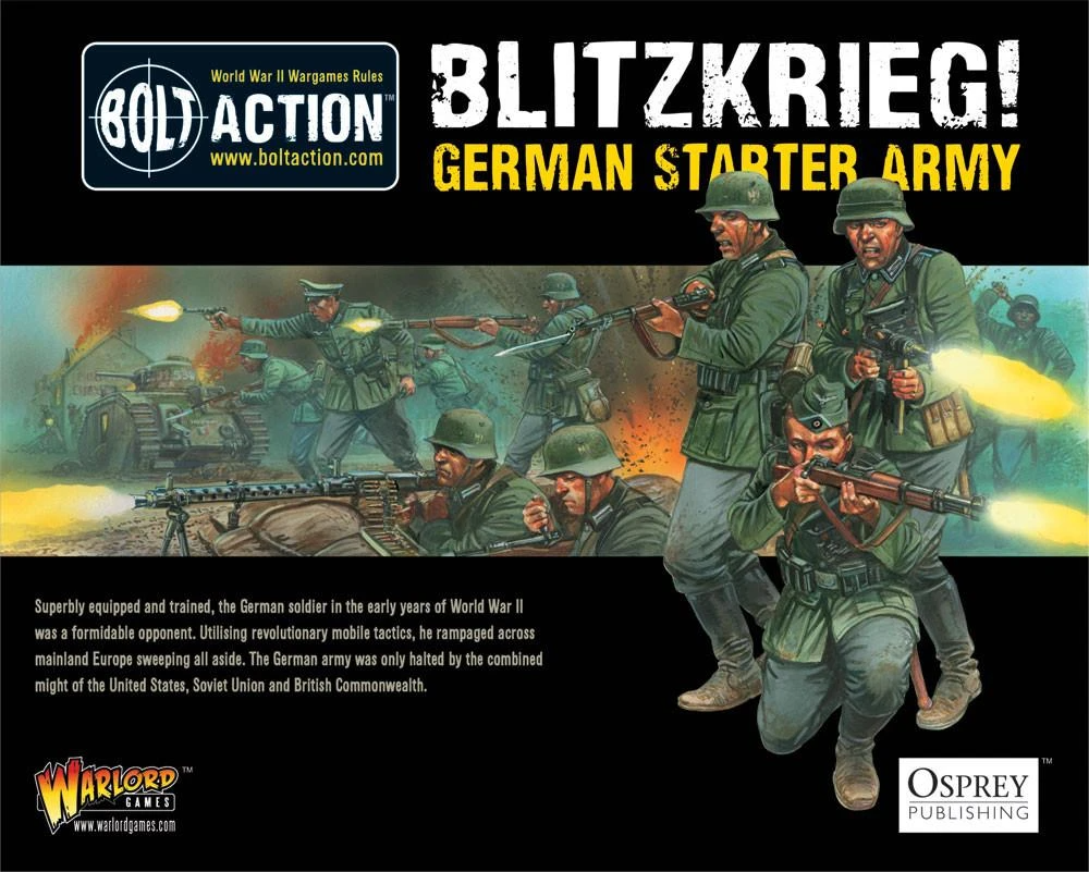Bolt Action Blitzkrieg! German Heer Starter Army