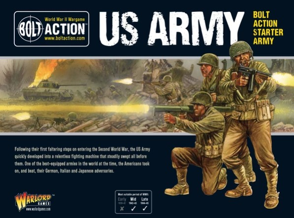 Bolt Action US Army Starter Army