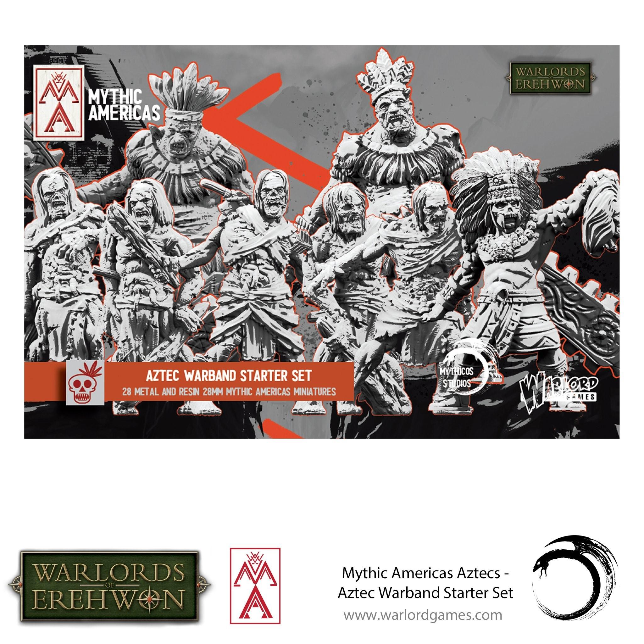 Mythic Americas Aztec Warband Starter Set