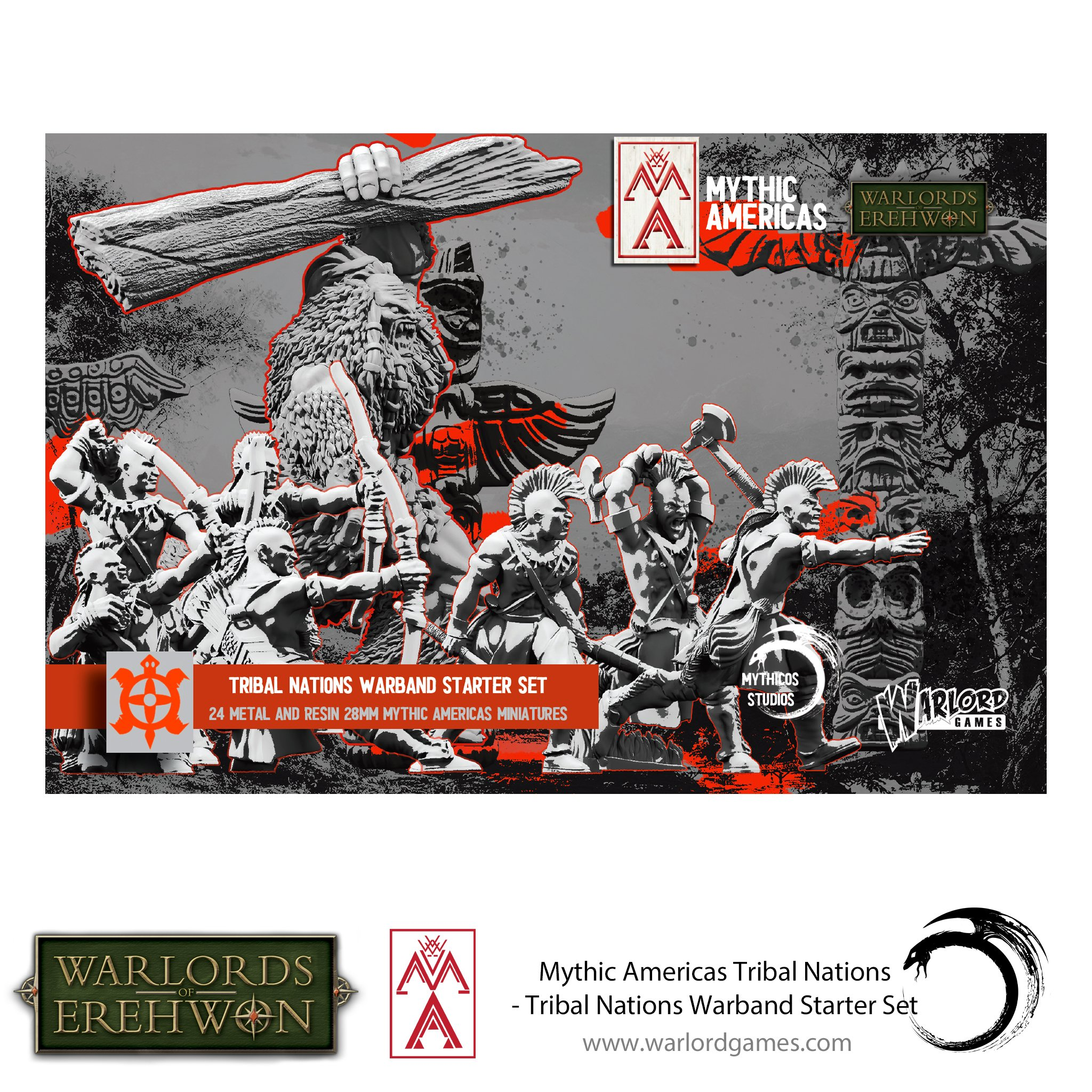 Mythic Americas Tribal Nations Warband Starter Set