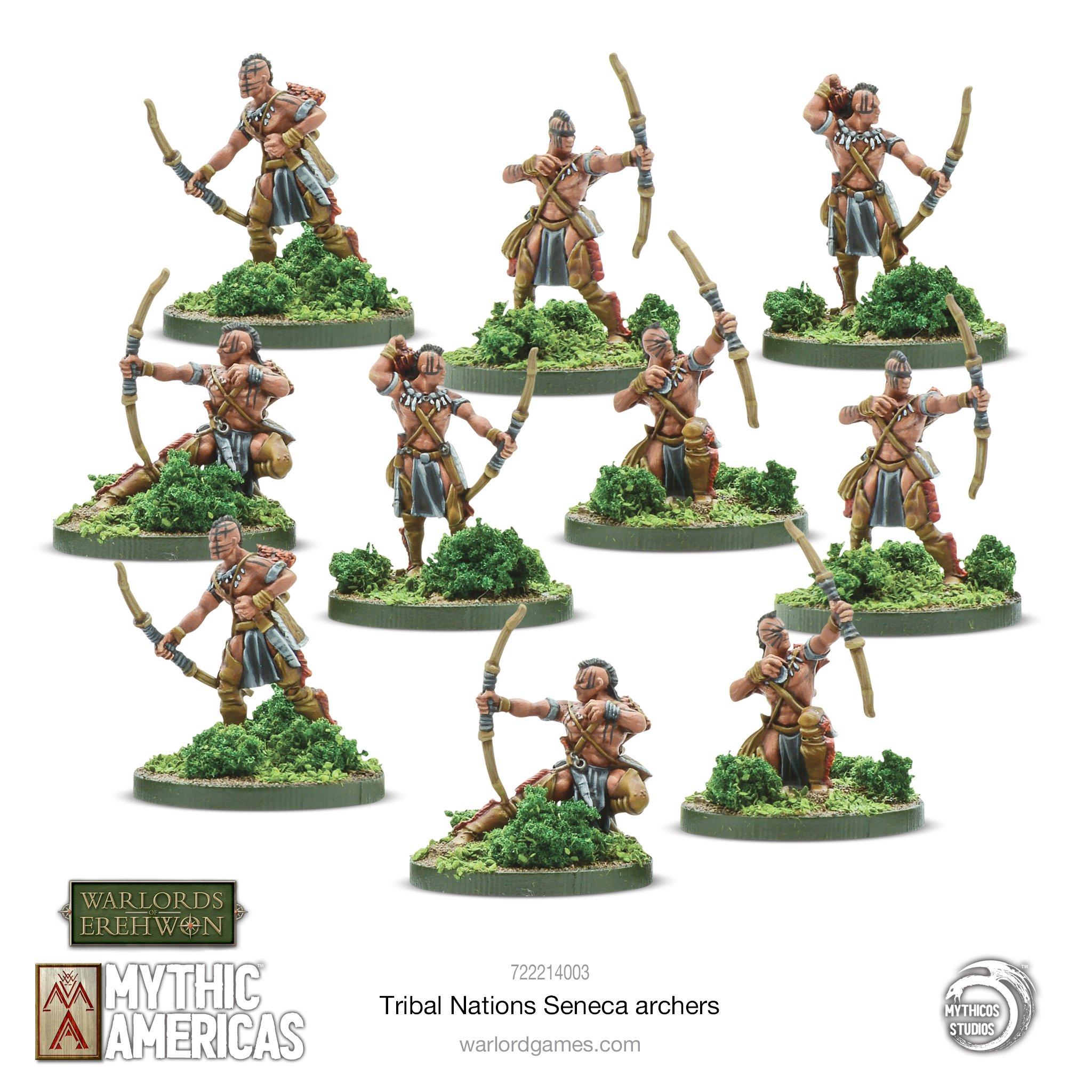 Mythic Americas Tribal Nations Seneca Archers