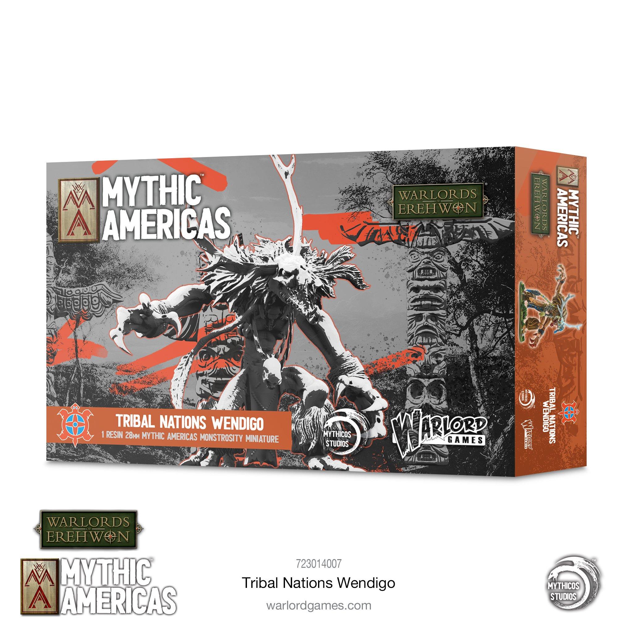 Mythic Americas Tribal Nations Wendigo