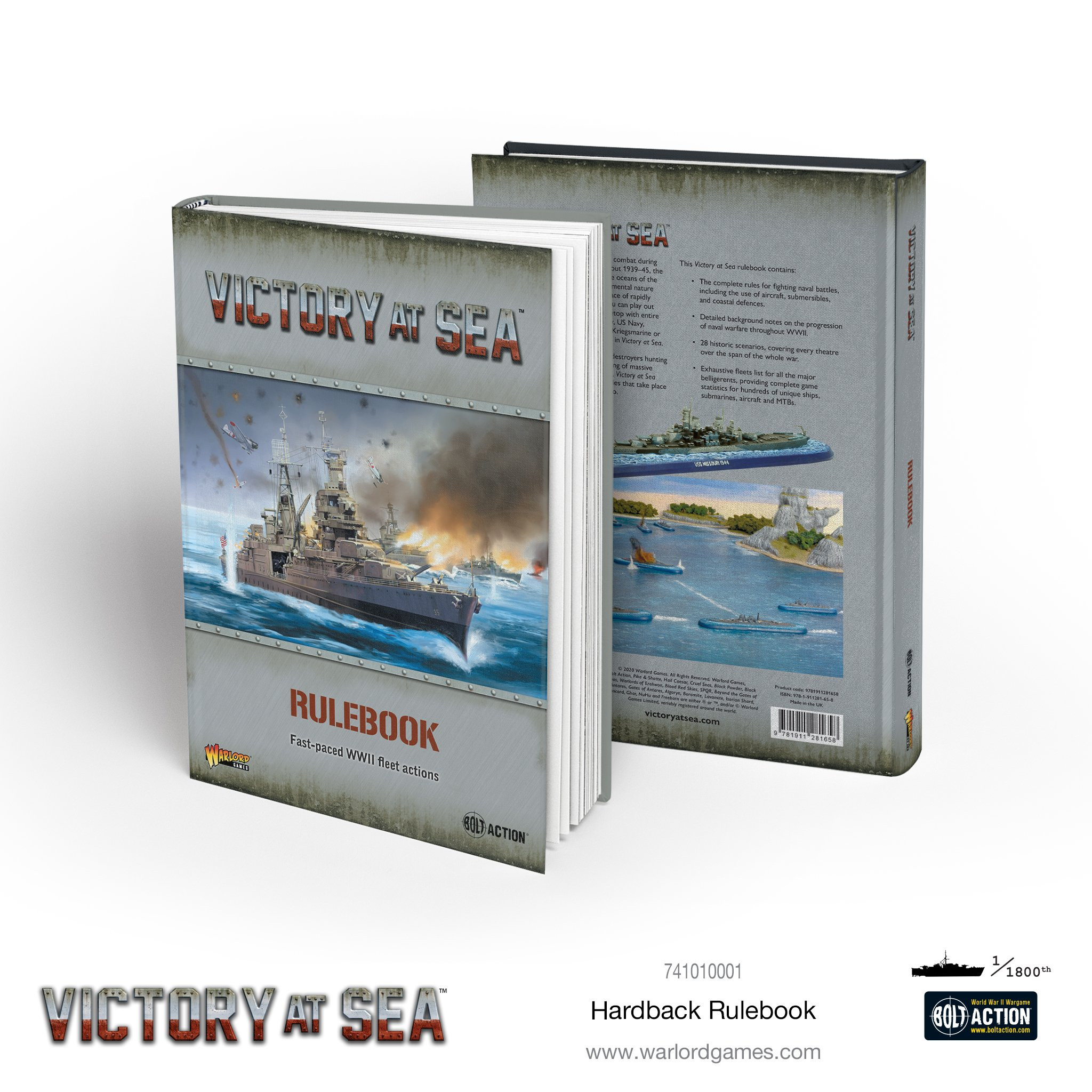 Victory at Sea Rulebook Hardback
