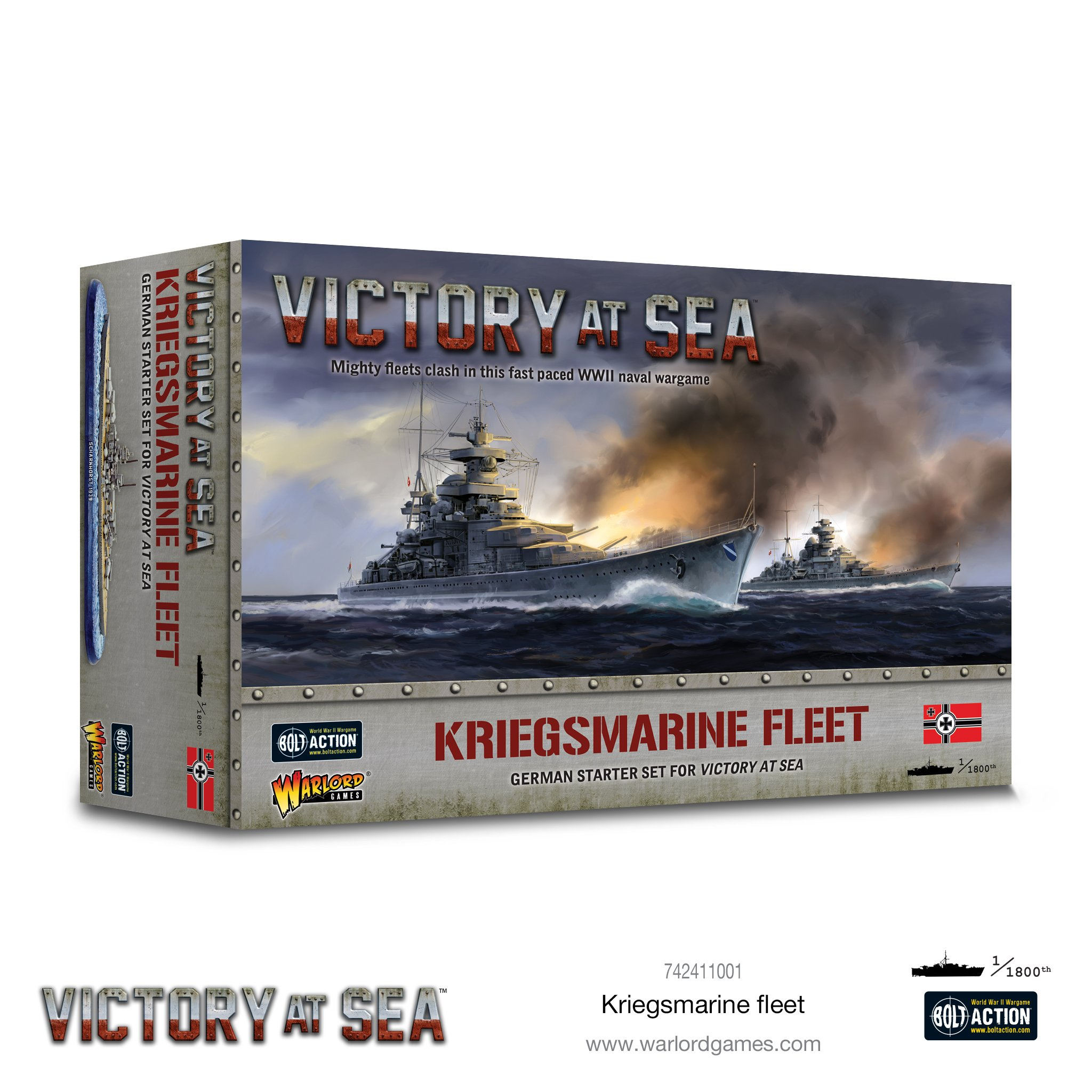 Victory at Sea Kriegsmarine fleet box