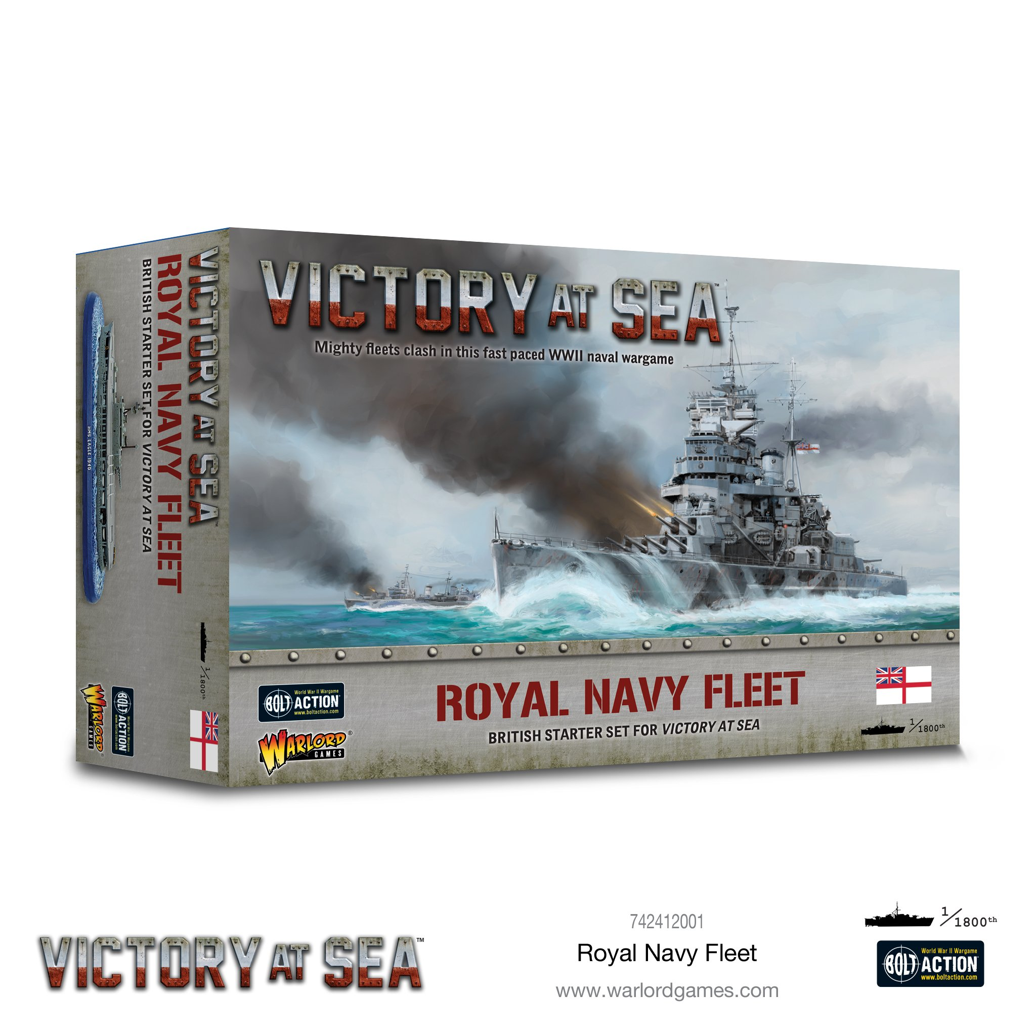 Victory at Sea Royal Navy fleet box