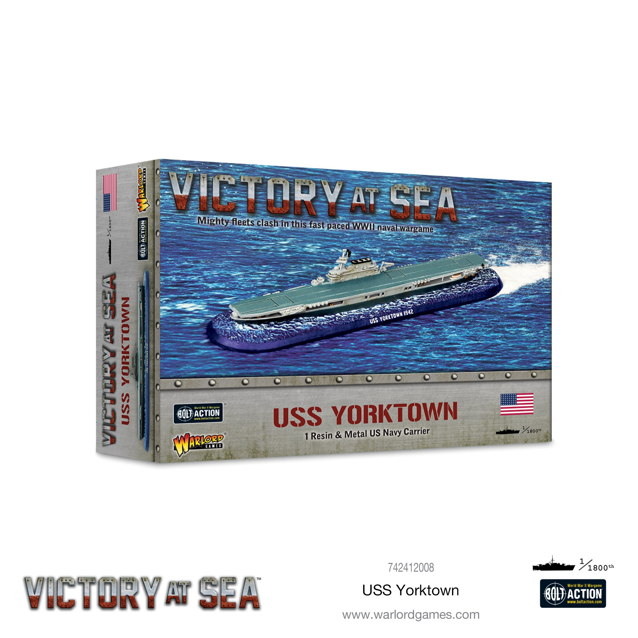 Victory at Sea USS Yorktown