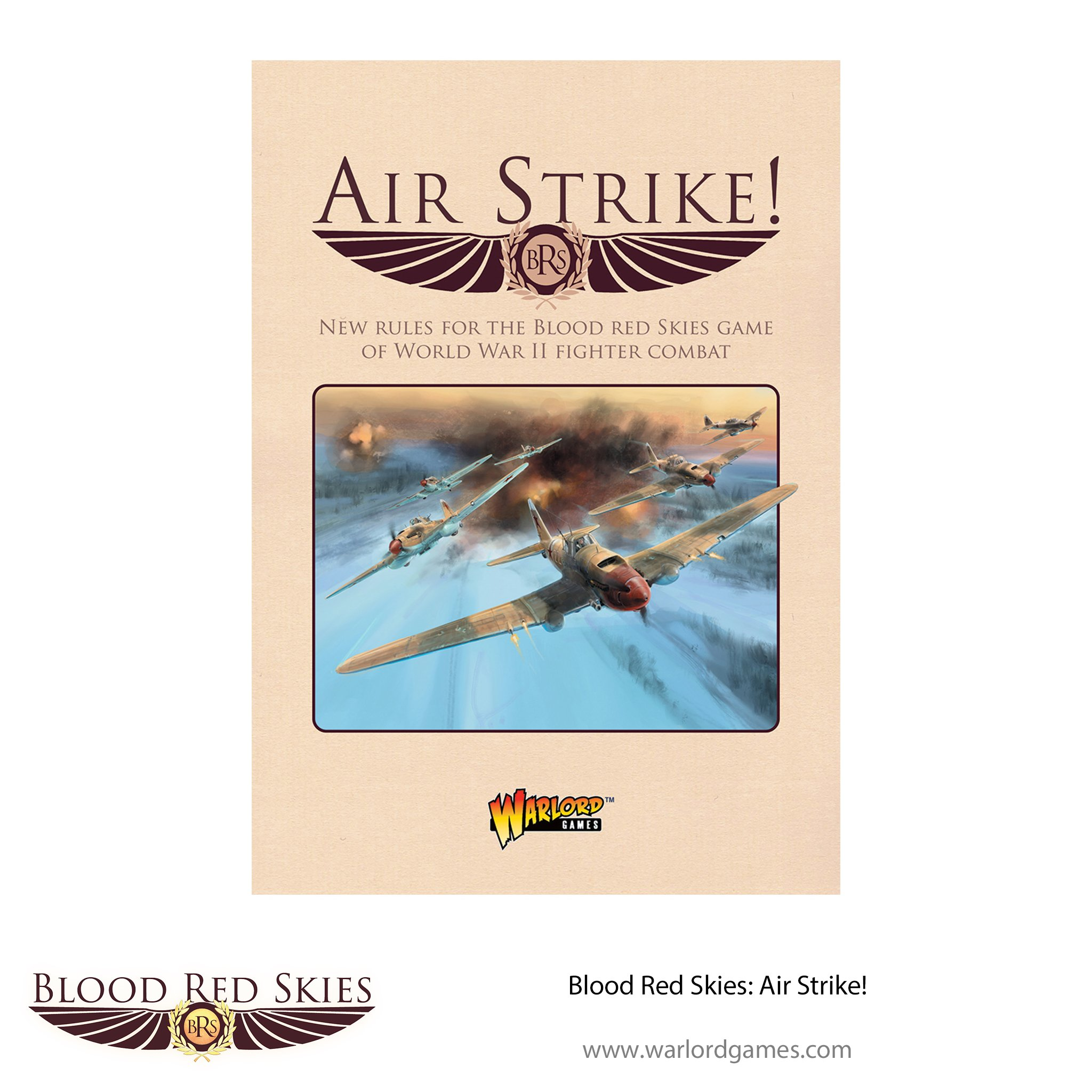 Blood Red Skies - Air Strike Supplement