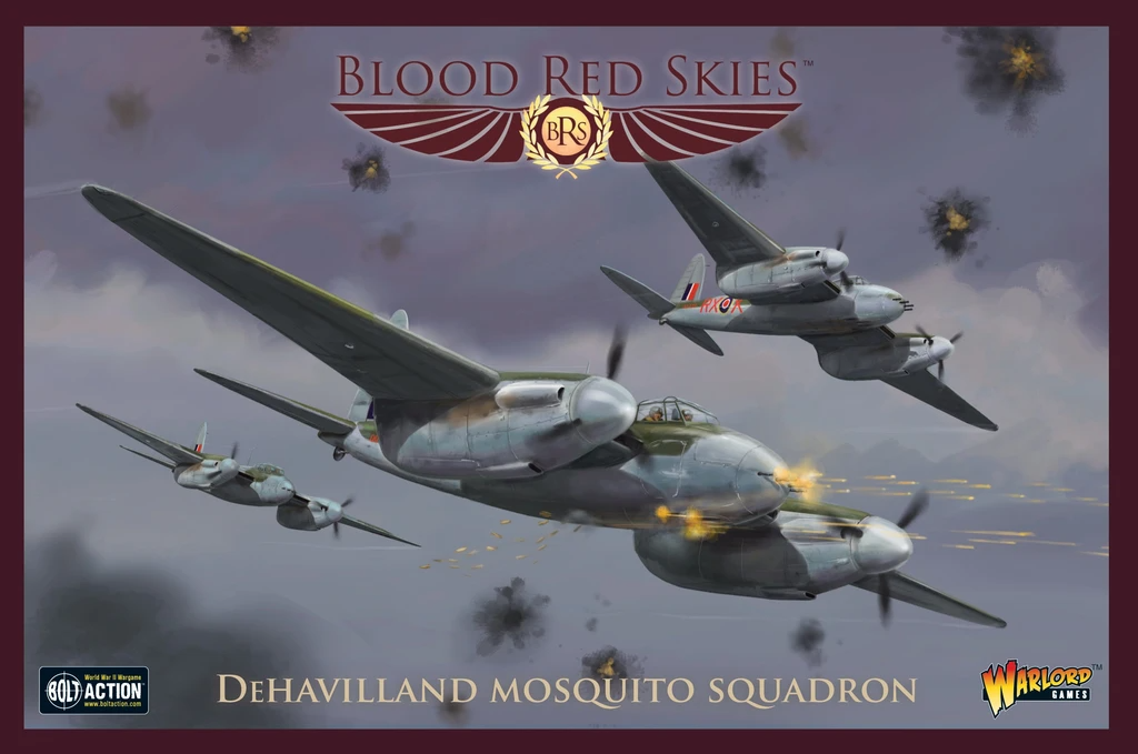 Blood Red Skies de Havilland Mosquito Squadron