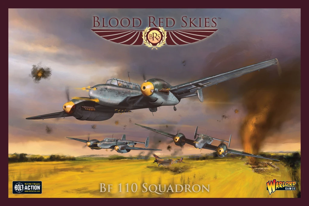 Blood Red Skies Bf 110 Squadron