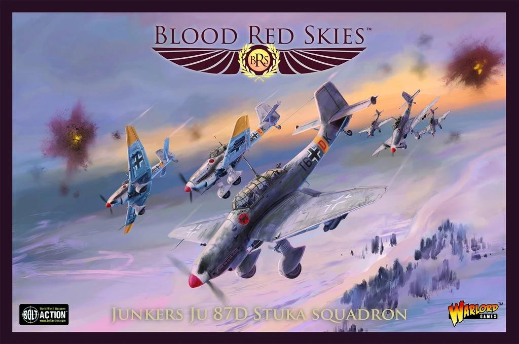 Blood Red Skies Ju 87D Stuka Squadron