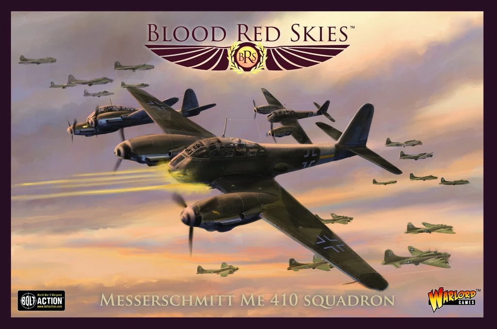 Blood Red Skies Me 410 Squadron