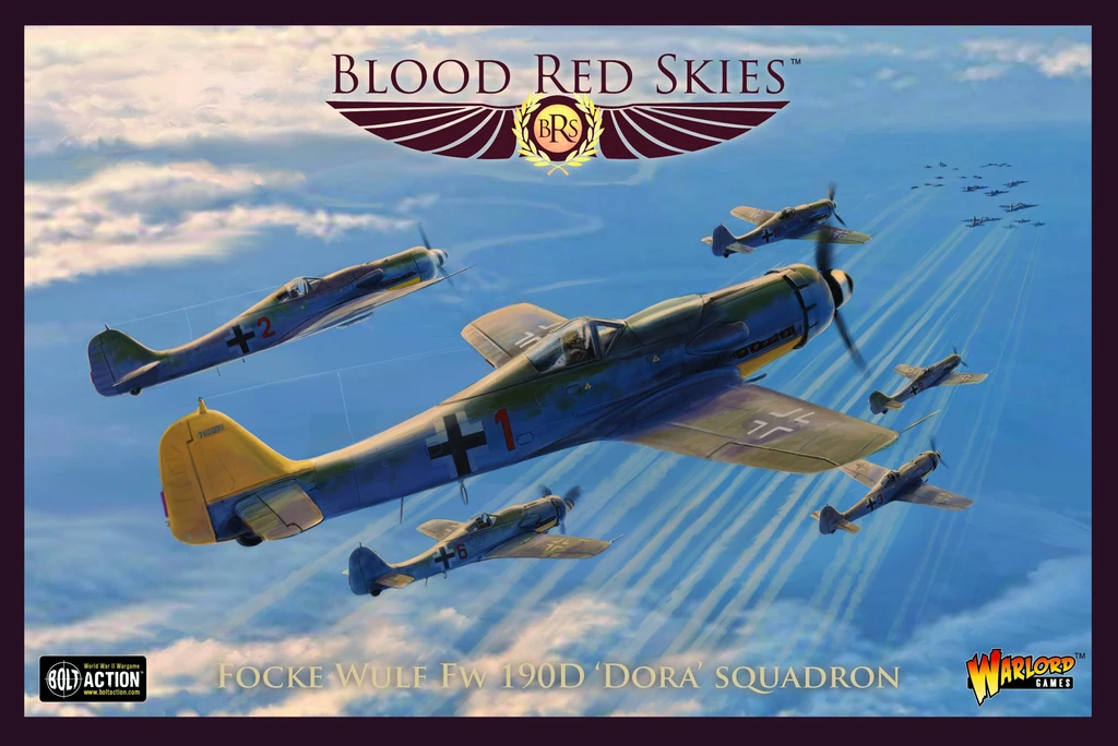 Blood Red Skies Fw 190 Dora Squadron