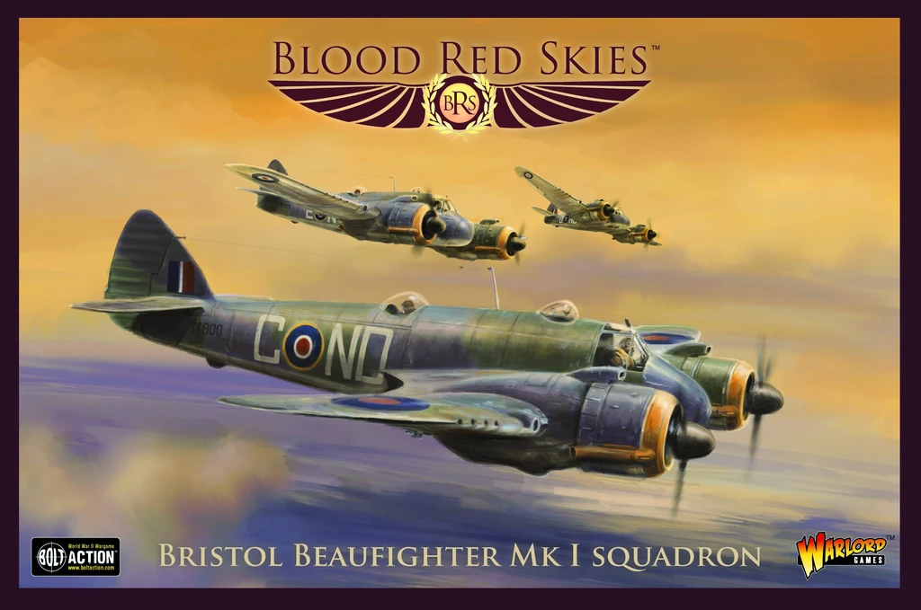 Blood Red Skies Bristol Beaufighter Squadron