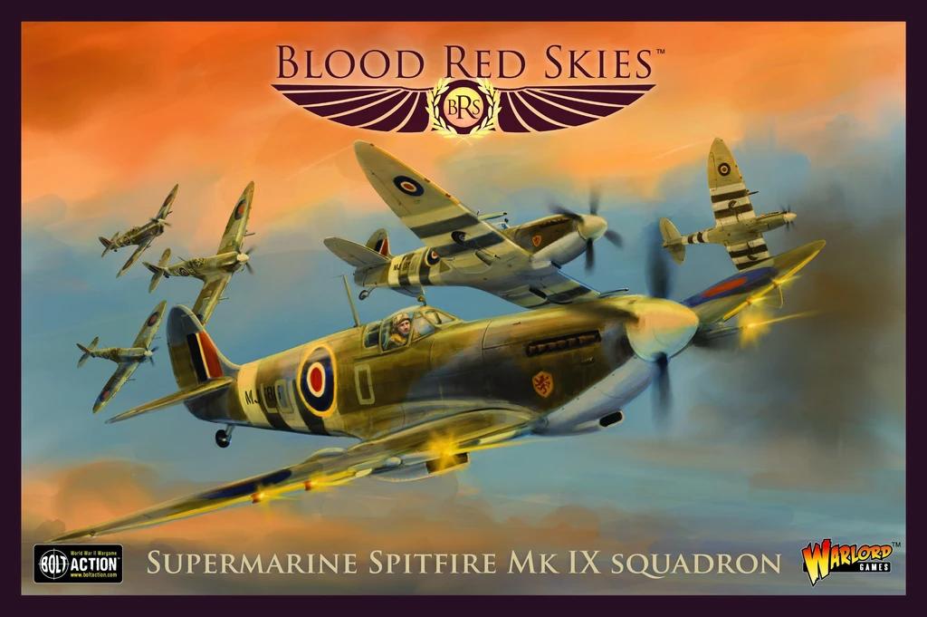 Blood Red Skies Supermarine Spitfire Mk IX Squadron