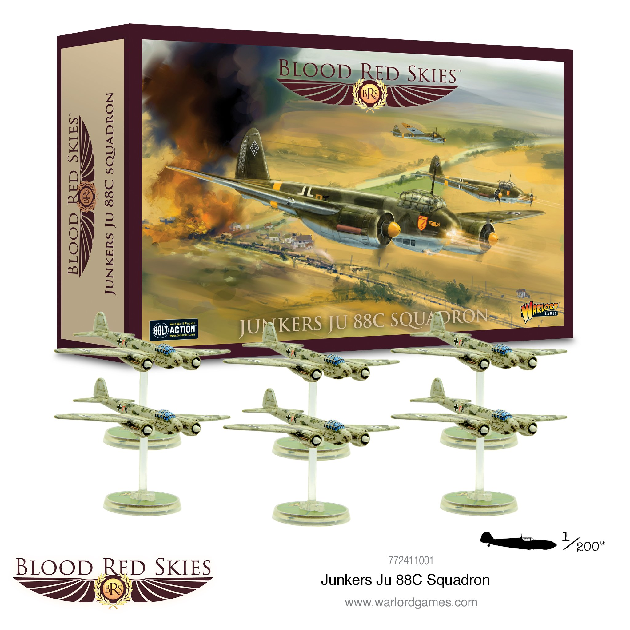 Blood Red Skies Junkers Ju 88C Squadron