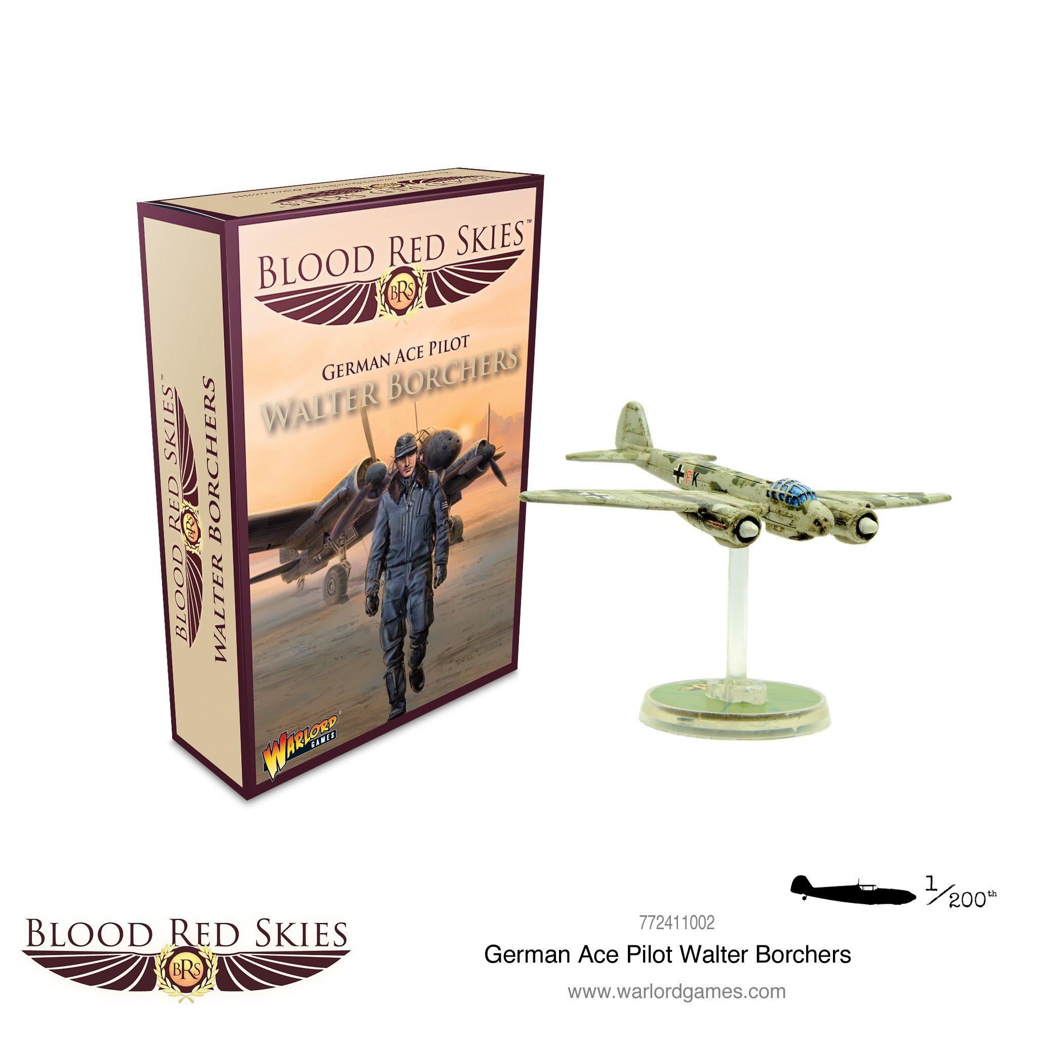 Blood Red Skies German Ace Pilot - Walter Borchers