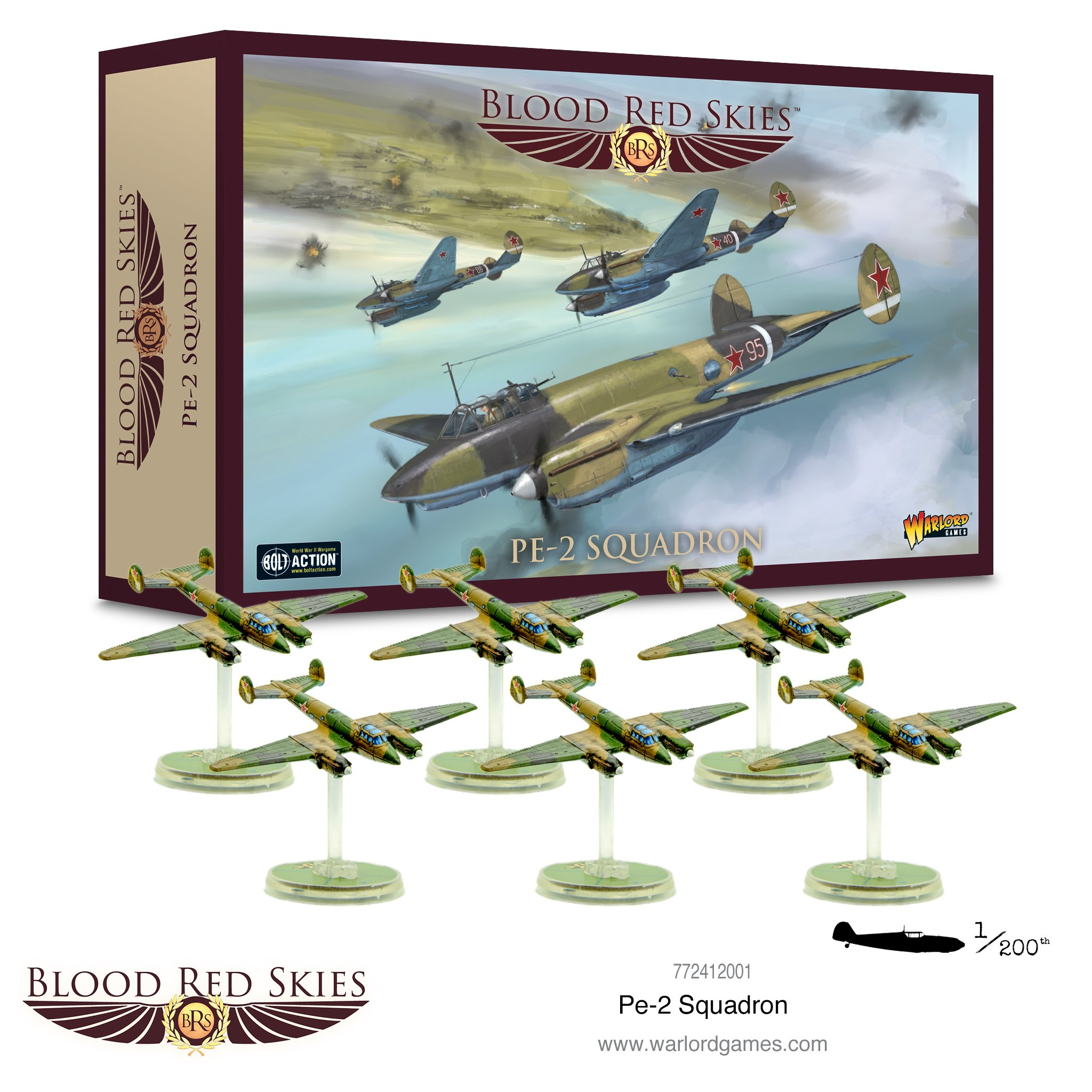 Blood Red Skies PE-2 Squadron