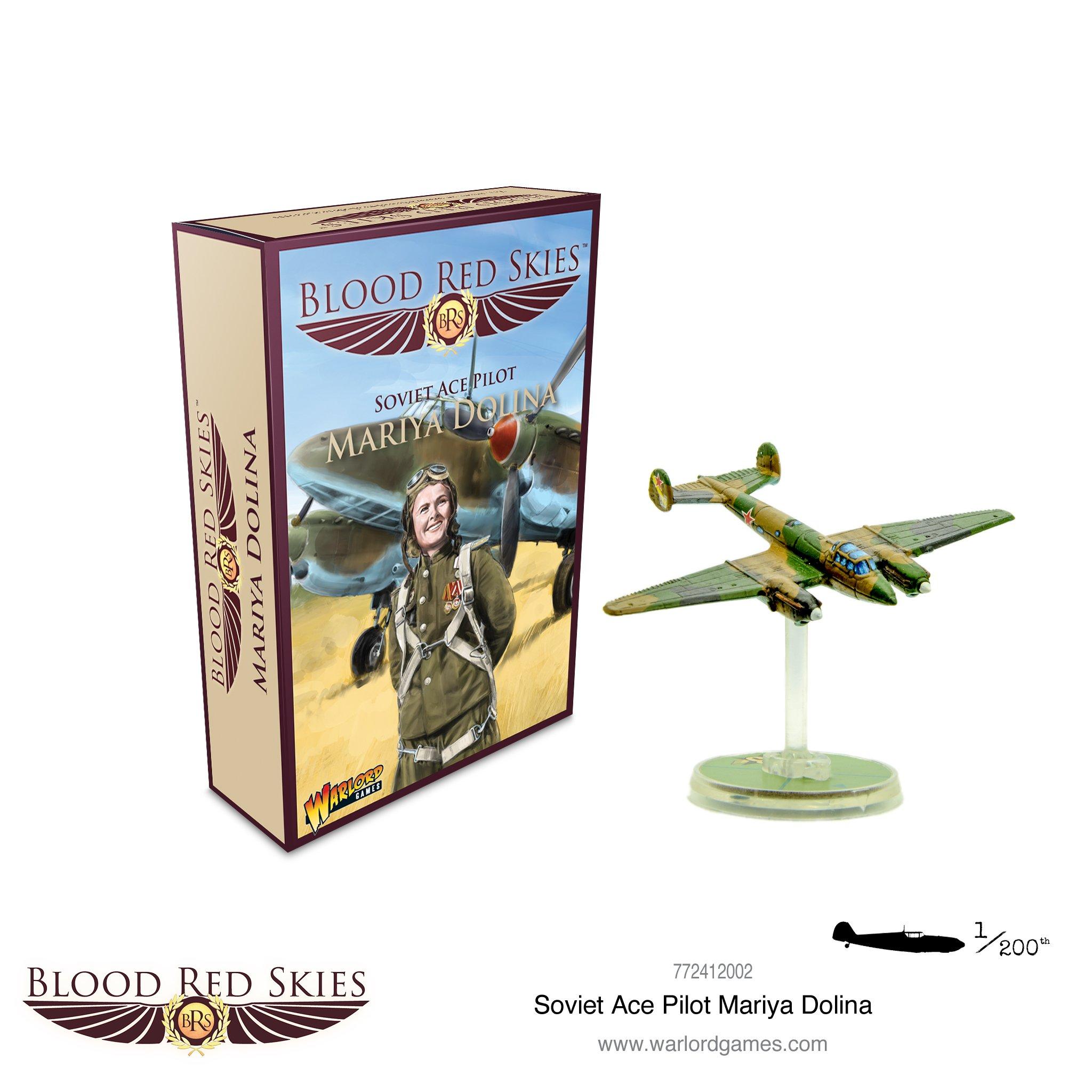 Blood Red Skies Soviet Ace Pilot - Mariya Dolina