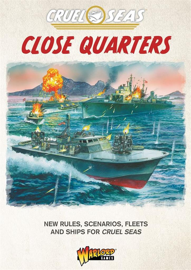 Cruel Seas Close Quarters! Cruel Seas supplement book