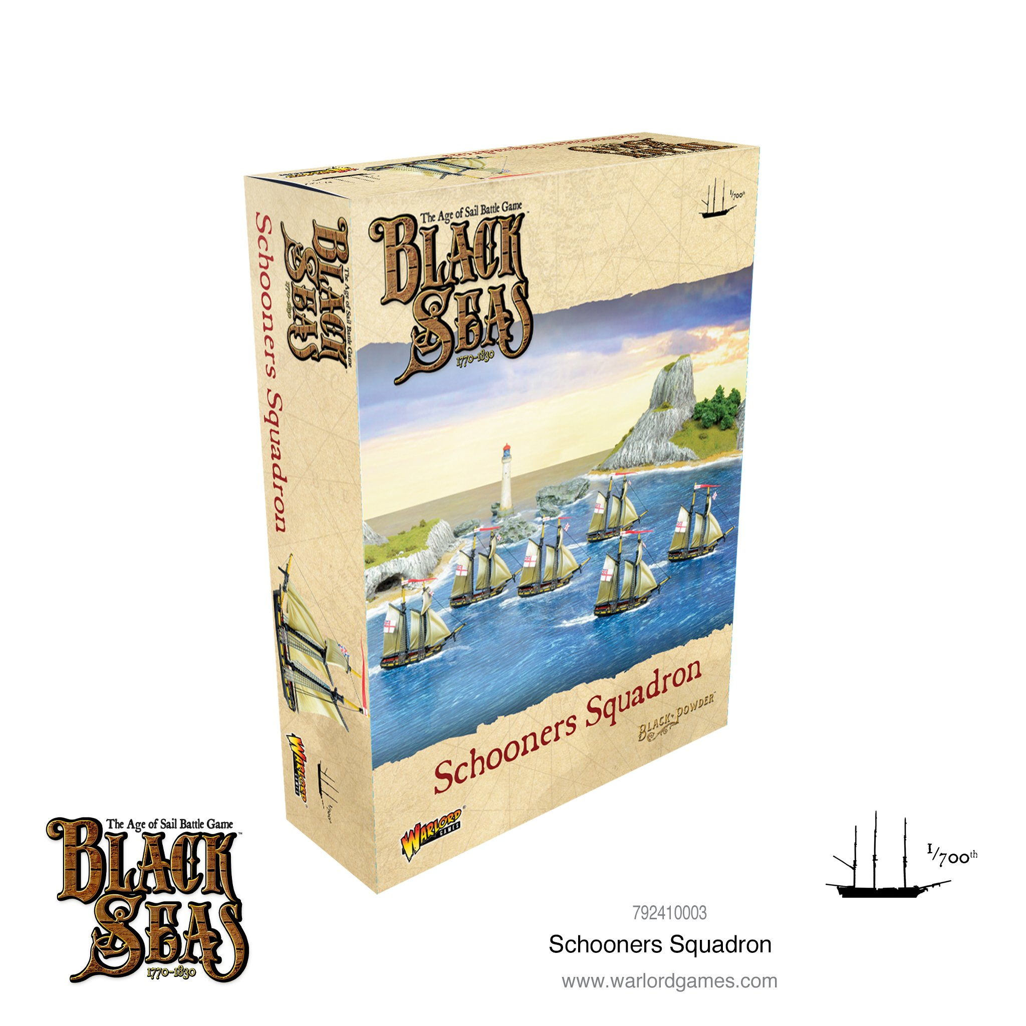Black Powder Black Seas: Schooners squadron