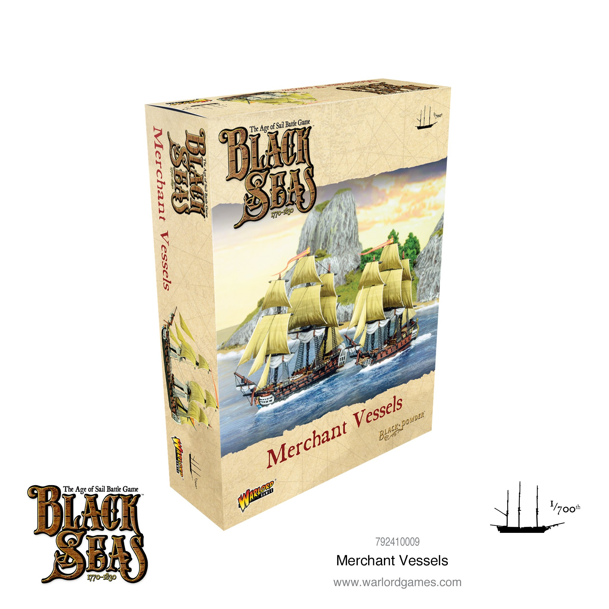 Black Powder Merchant Vessels