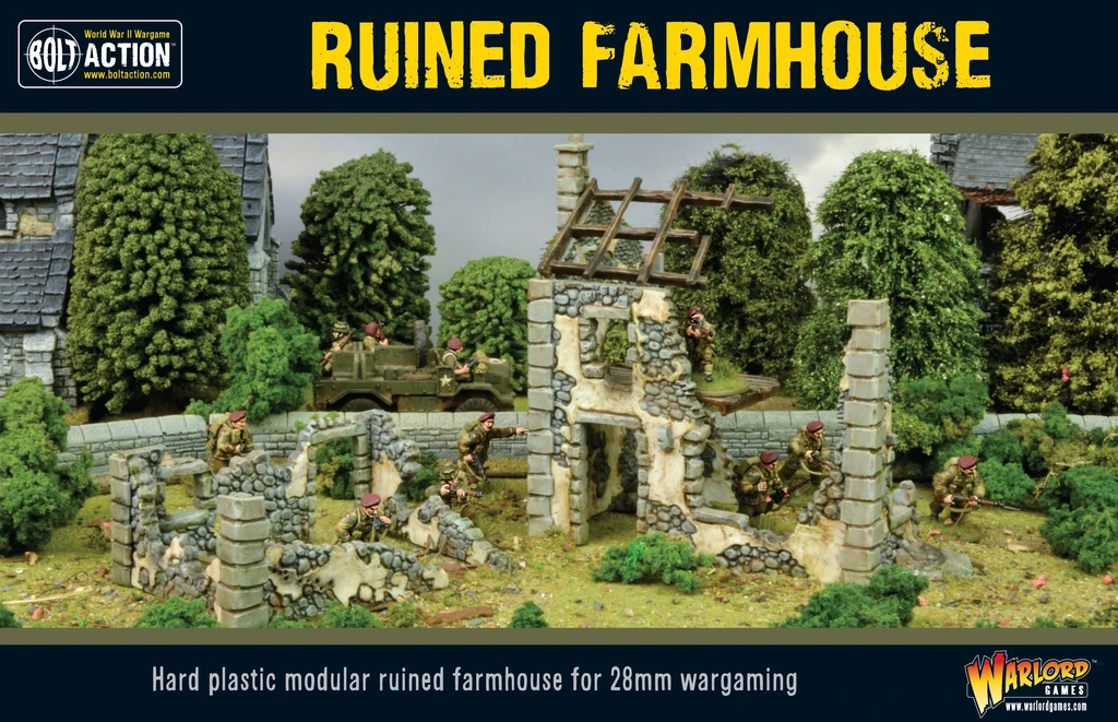 Bolt Action Ruined Farmhouse (Reformatted)