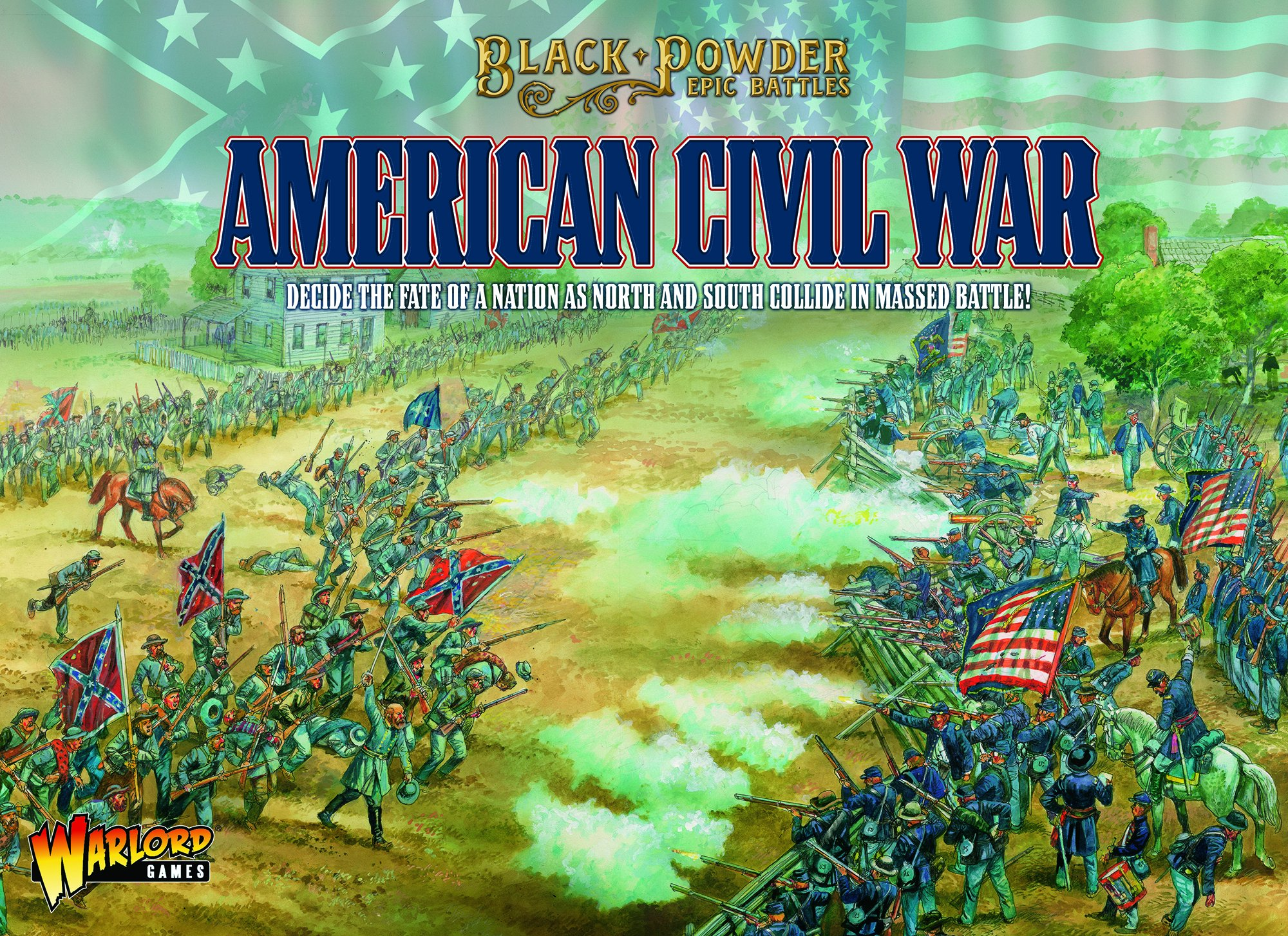 Black Powder Epic Battles : American Civil War Bundle w/ Miniatures