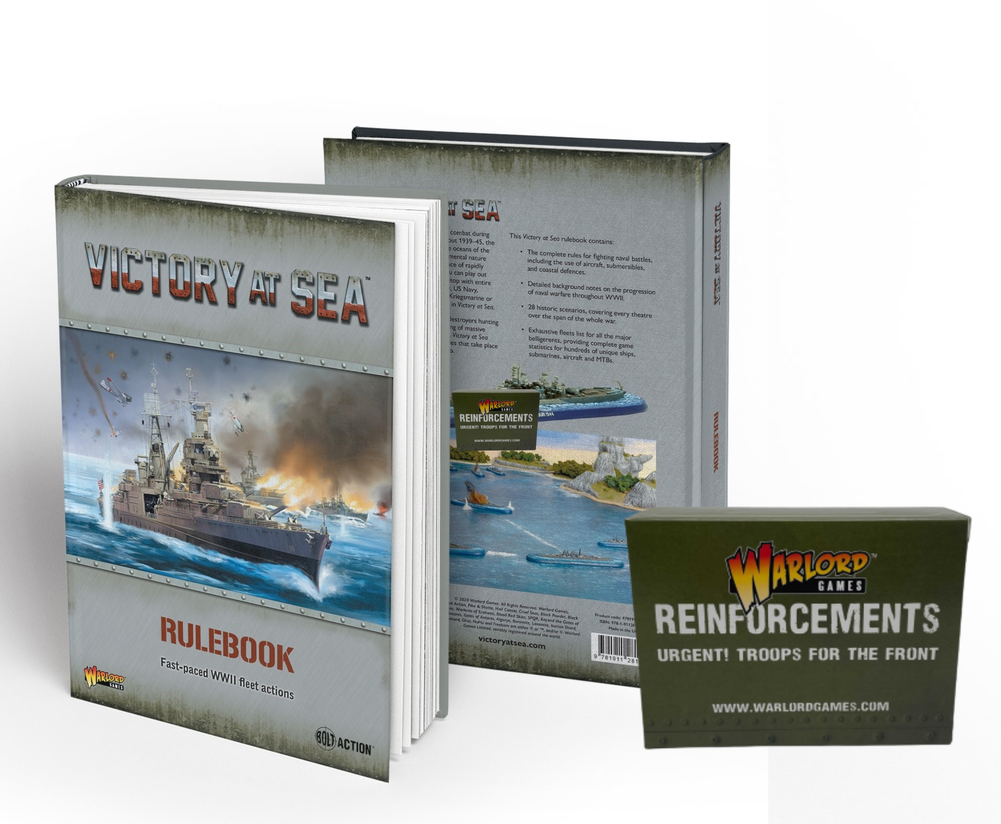 Victory at Sea Bundle, Rulebook Hardback and German Tanker Altmark Miniature (Exclusive)