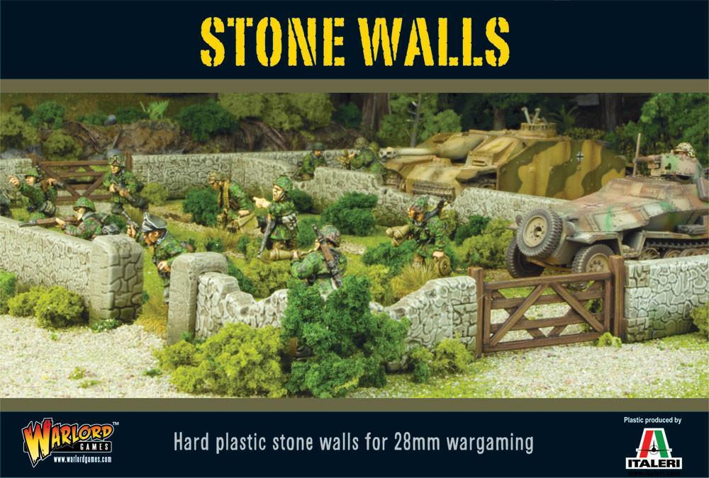 Bolt Action Stone Walls plastic boxed set