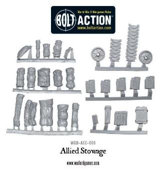 Bolt Action Allied Stowage