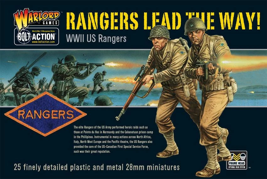 Bolt Action US Rangers
