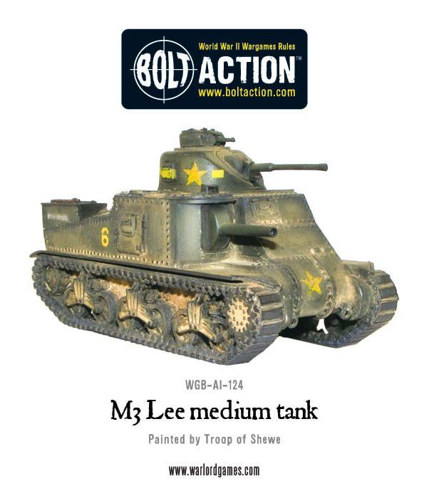Bolt Action M3 Lee Tank