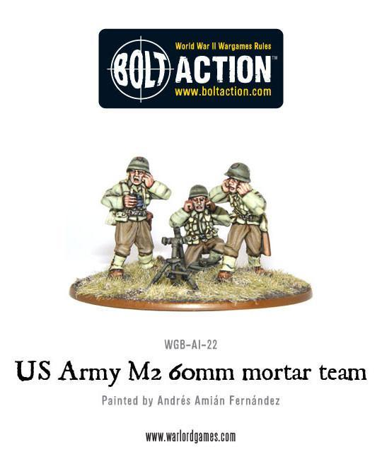 Bolt Action US Army 60mm mortar team