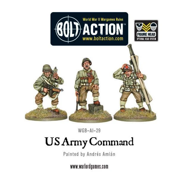 Bolt Action US Army Command