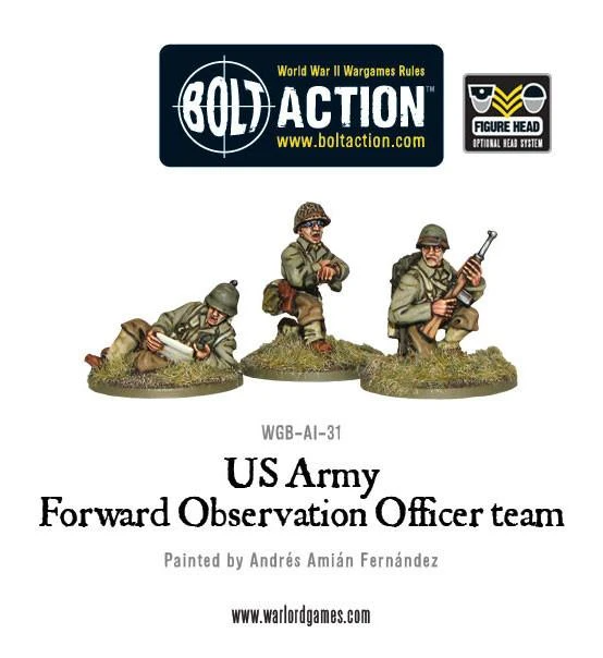 Bolt Action US Army Forward Observer Officers (FOO)