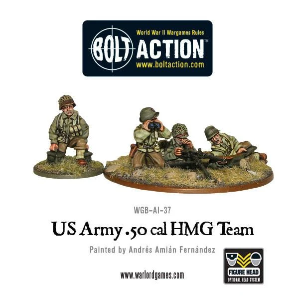 Bolt Action US Army 50 Cal HMG Team