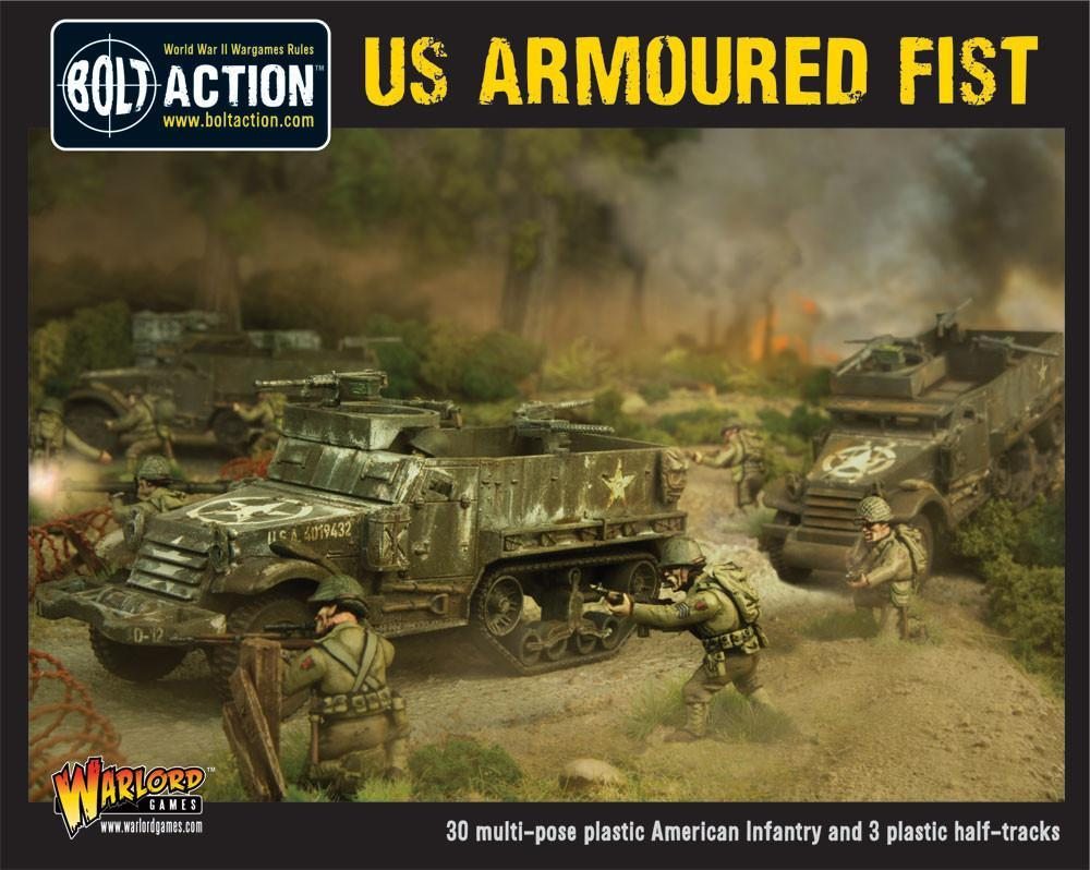 Bolt Action US Armoured Fist